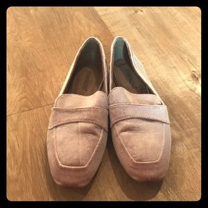 Pink Velour Loafers 😍